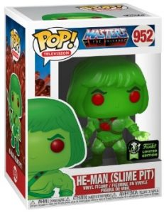 POP TELEVISION MASTERS OF THE UNIVERSE – HE-MAN (Slime Pit/ECCC 2020) VF [952]