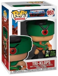 POP TELEVISION MASTERS OF THE UNIVERSE – TRI-KLOPS (ECCC 2020) VF [951]