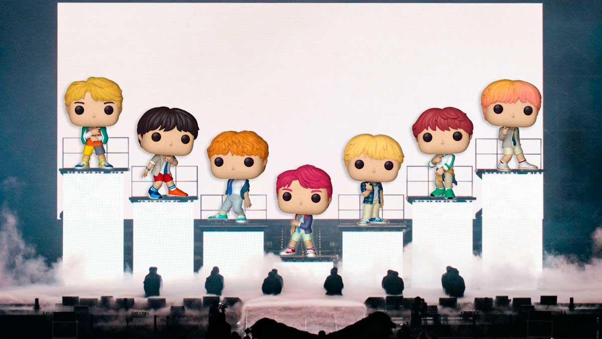 K-POP: FUNKO BTS