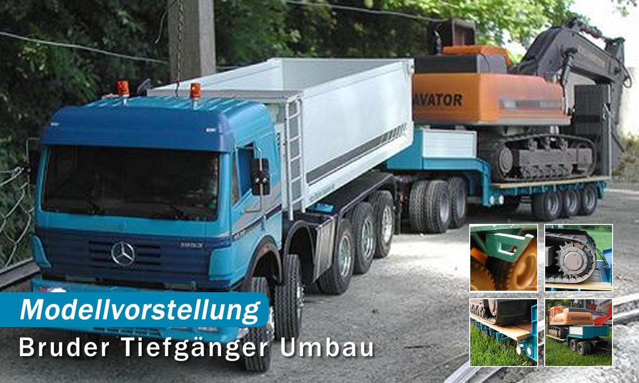 Umbau Bruder Tiefg 228 Nger Funktionsmodellbau Ch