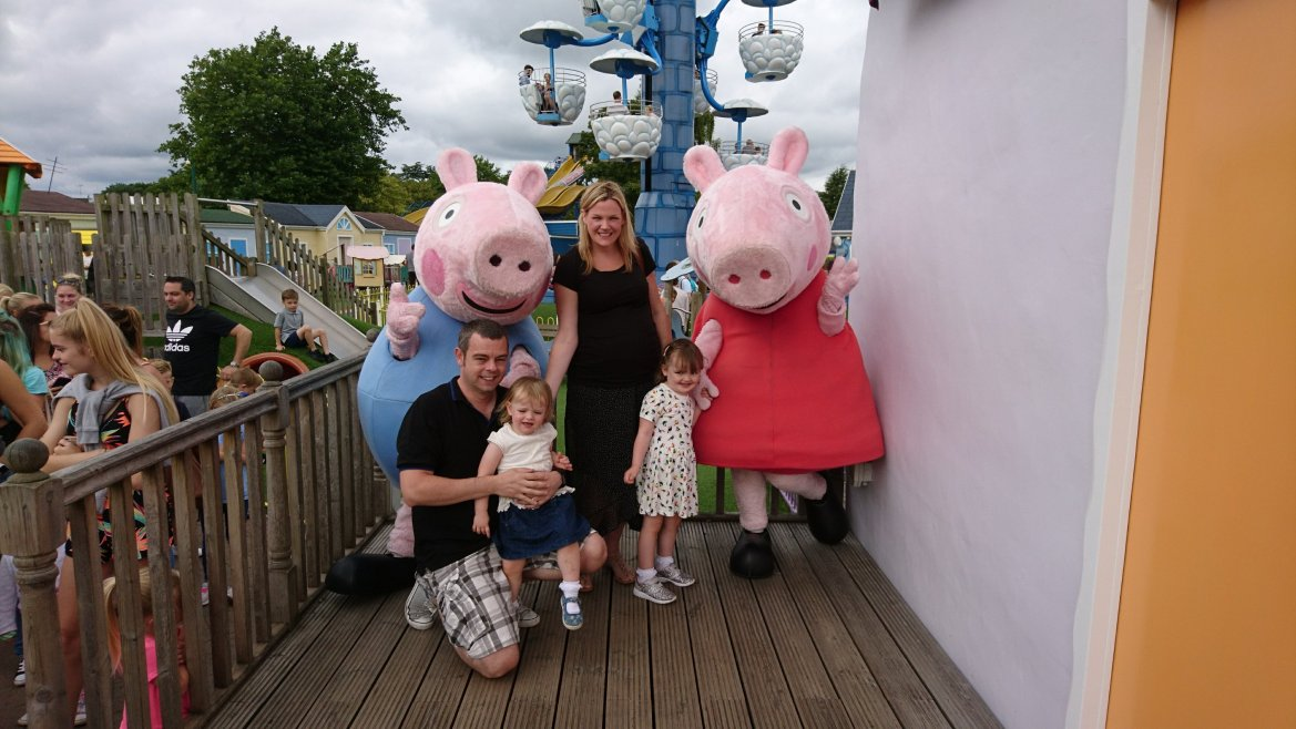 Peppa meets the McCanns!