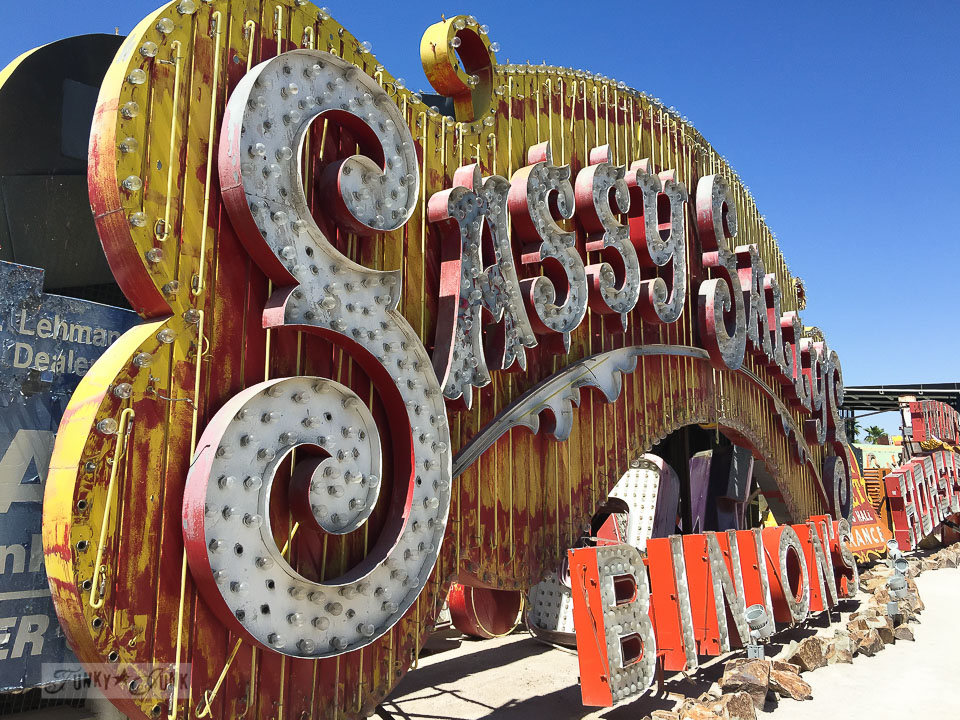 Neon Sign Museum Where Signs Retire In Las VegasFunky Junk Interiors