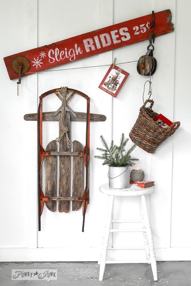 PJ 309 Features DIY Christmas SignsFunky Junk Interiors