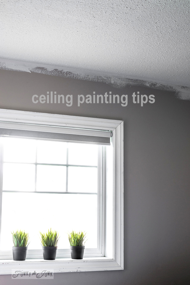 My Favorite Ceiling Painting Gear And TipsFunky Junk Interiors