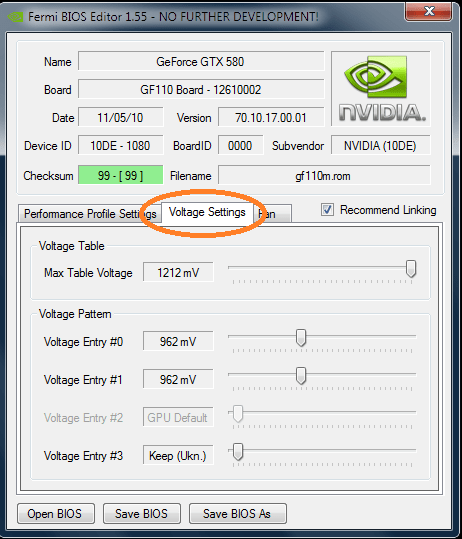 How to flash the BIOS of your nVidia GTX580 for more voltage