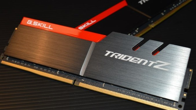 G Skill Trident Z 16GB DDR4-3200 CL16 Memory Kit Review