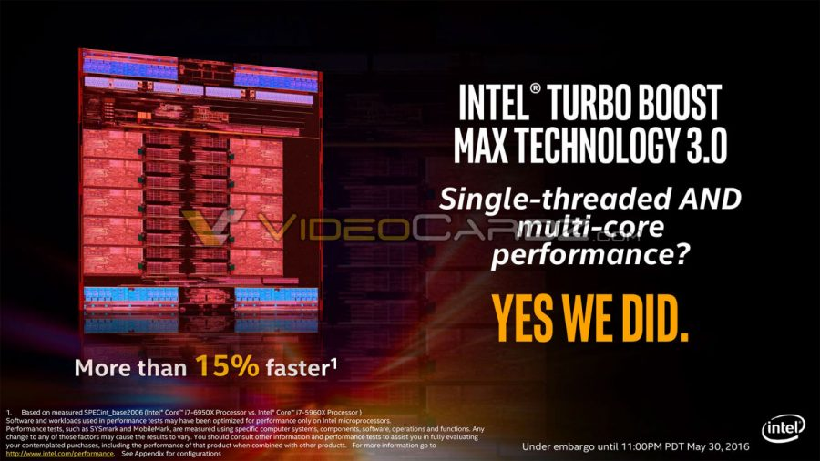 Intel Broadwell-E Slides Leaked – Core i7-6950X To Cost