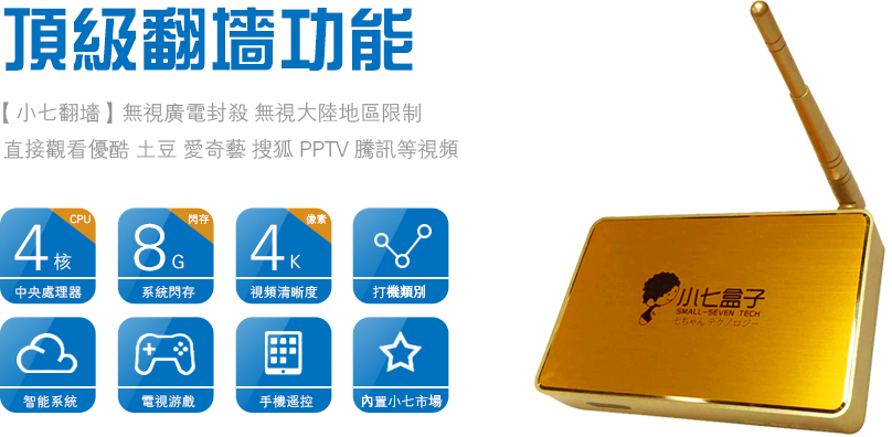 Small Seven IPTV Box 小七盒子 Review - FunkyKit