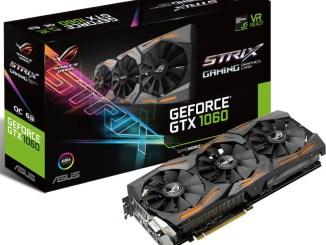 GTX 1060 STRIX