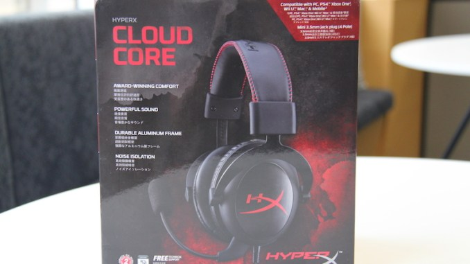 HyperX Cloud Core