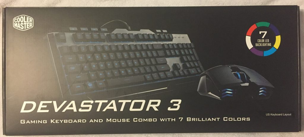 5137e9d5c48 The Devastator 3 Combo is designed to be comfortable to use in all  circumstances. The mouse is ergonomically pleasing, with an ultralow flat  profile for ...