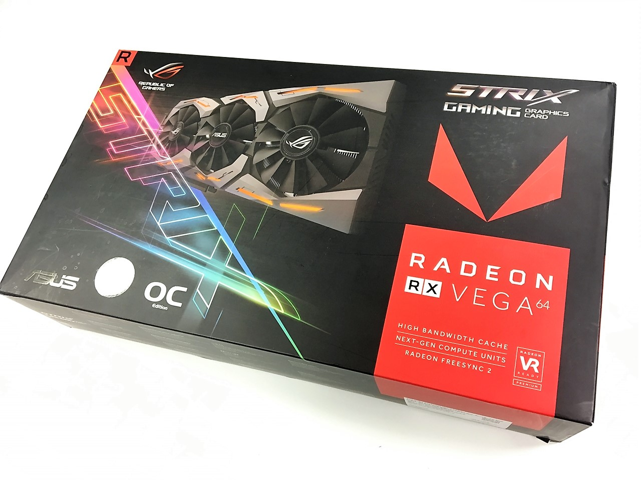 Asus ROG Strix Radeon RX Vega 64 Graphics Card Review - FunkyKit