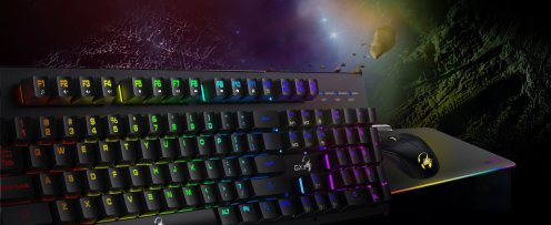 Smart Gaming Keyboard Scorpion K10 Make winning in game easy!