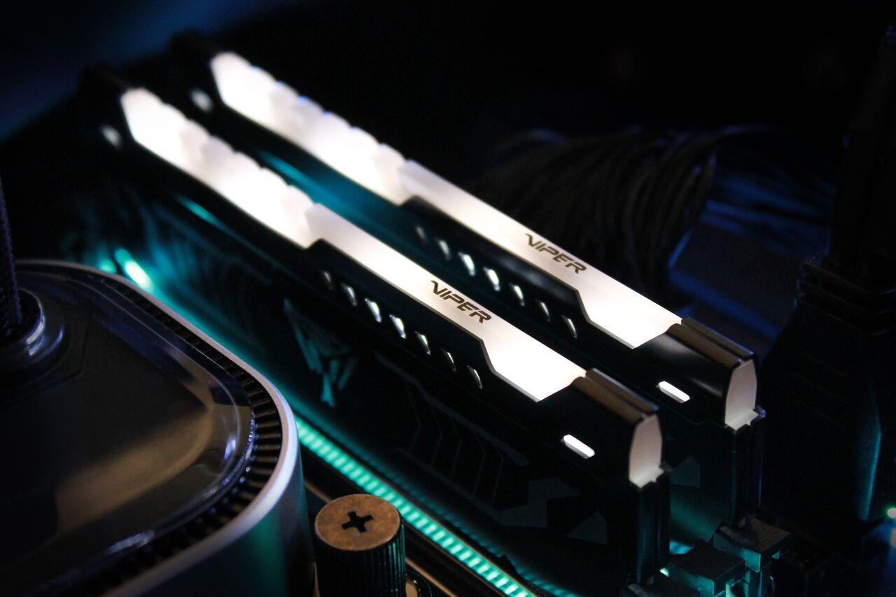 Patriot Viper LED 16GB DDR4-3200 Memory Kit Review - FunkyKit