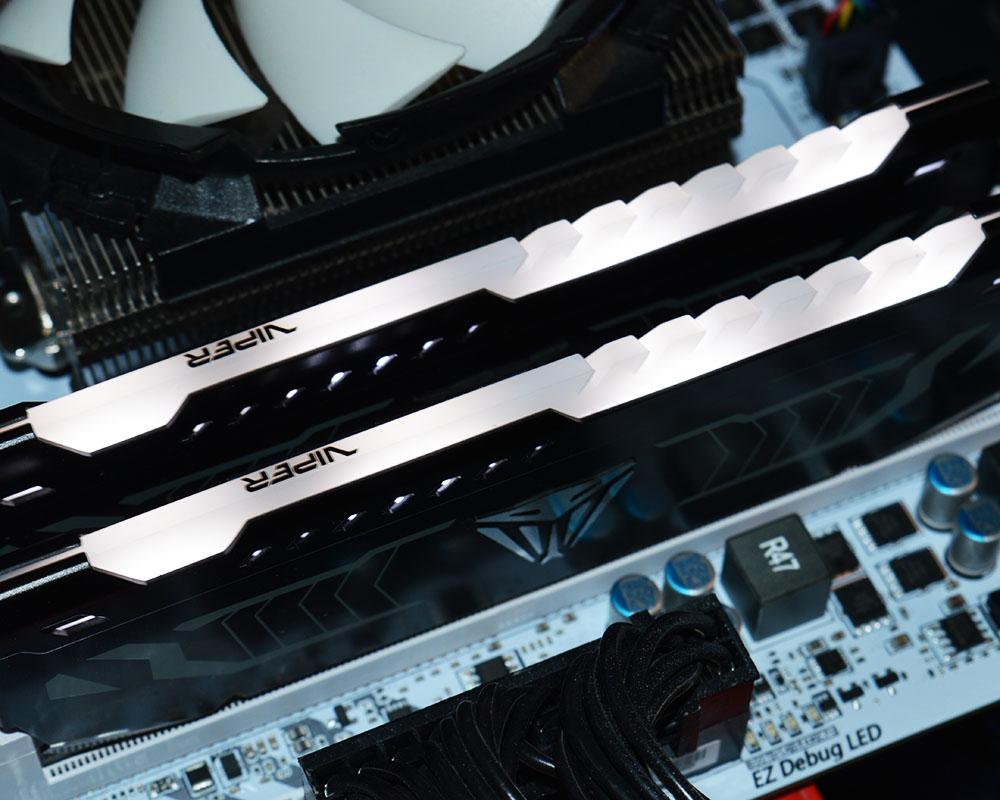 Patriot Viper LED 16GB DDR4-3200 Memory Kit Review - Page 2
