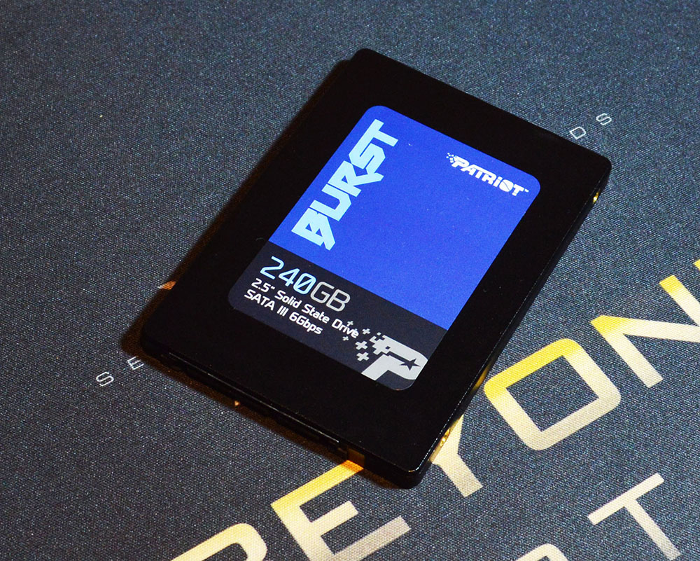 "Patriot Burst 240GB 2.5"" SATA III SSD Review"