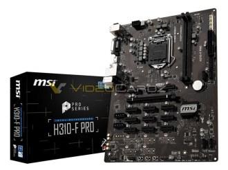 msi H310-F PRO Mining