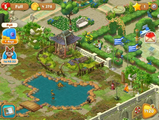 All Through The Game, The Butler, Austin Will Help You Accomplish Small  Tasks To Renovate The Garden. The Sprawling Garden Is Divided Into  Different ...