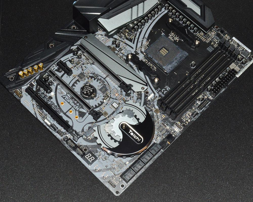 ASRock X470 Taichi AMD Ryzen Motherboard Review - FunkyKit