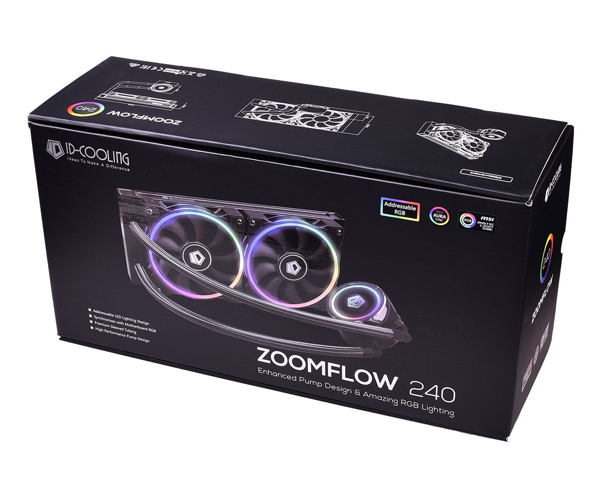 id-cooling zoomflow aio 4
