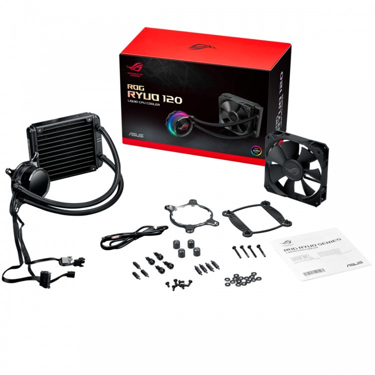 ASUS ROG Ryuo AIO CPU Coolers 120 b