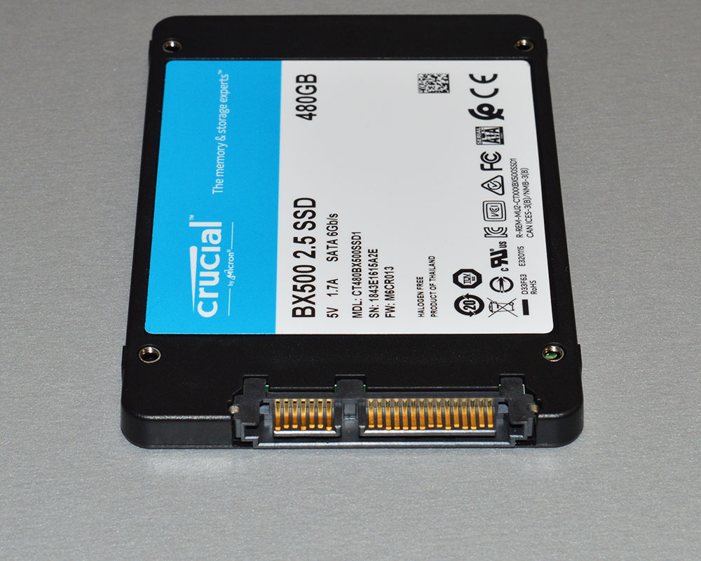Crucial BX500 480GB SATAIII SSD Review - Page 2 of 5 - FunkyKit