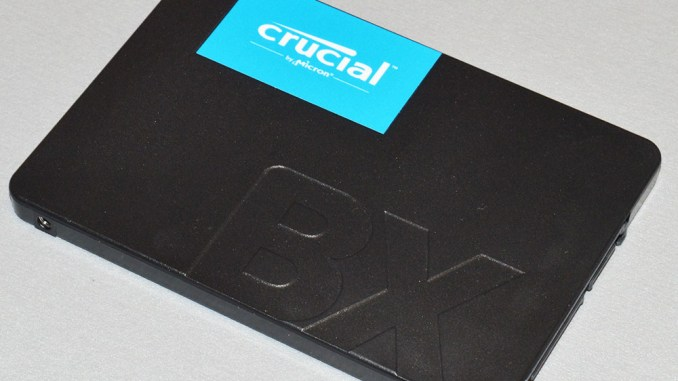 Crucial BX500 480GB SATAIII SSD Review - FunkyKit