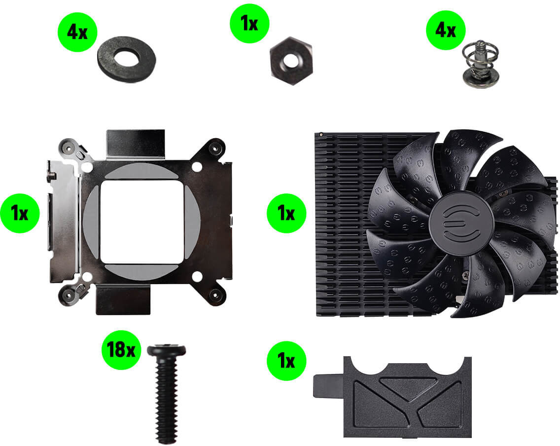 evga Hybrid Kit AIO Liquid Coolers 4