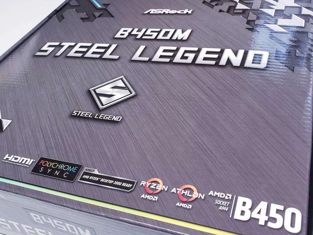 ASRock B450M Steel Legend (AM4) Motherboard Review - FunkyKit