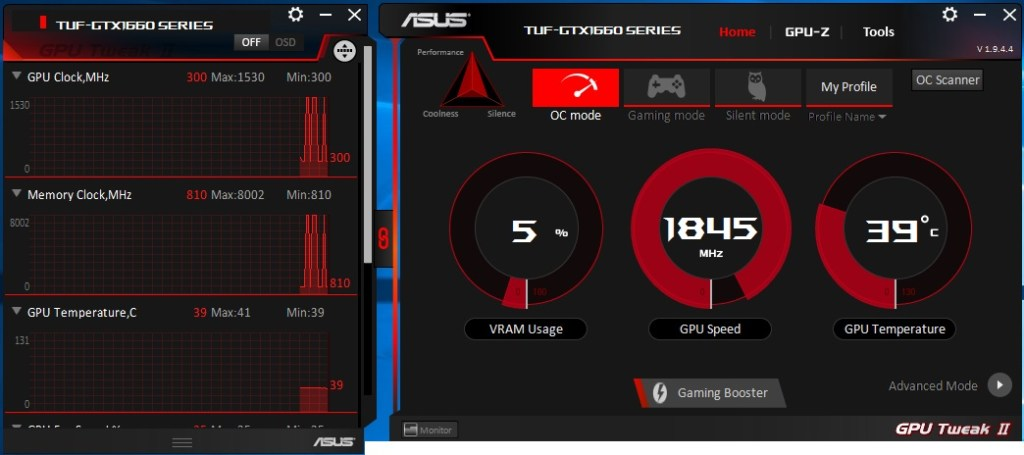 Asus TUF Gaming GeForce GTX 1660 OC (6GB GDDR5) Graphics Card Review