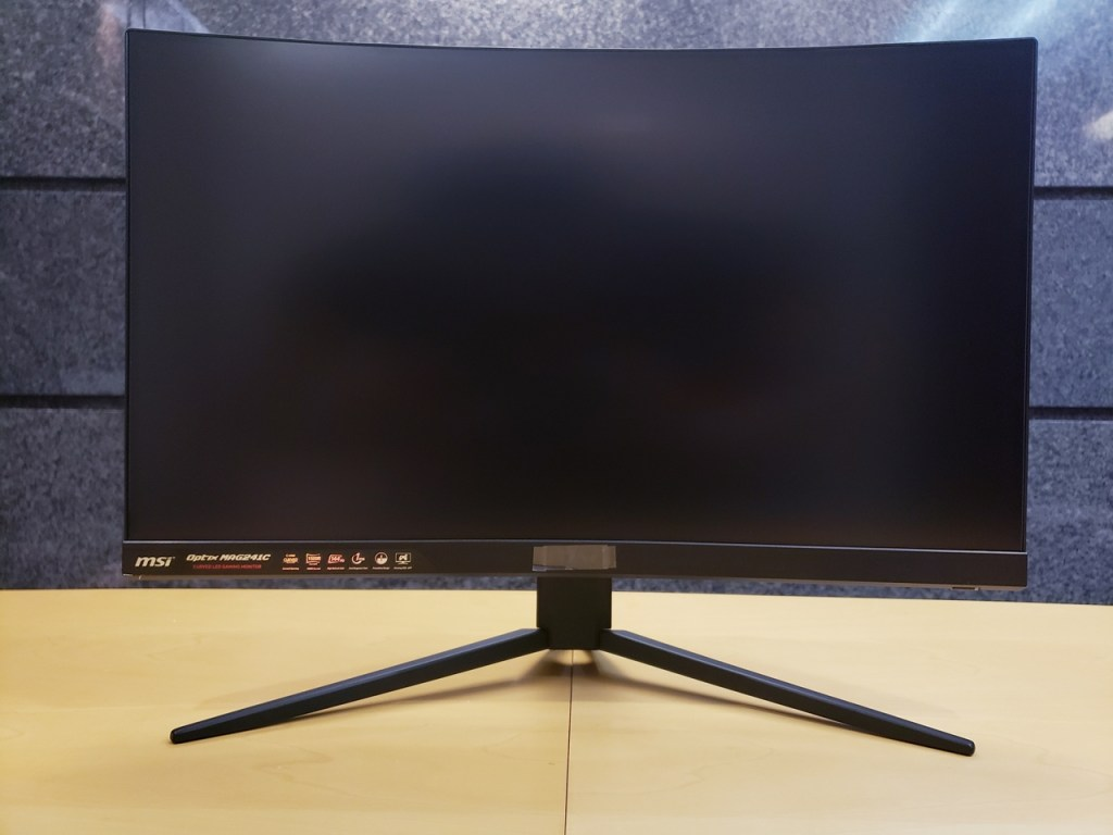 MSI Optix MAG241C Curved Gaming Monitor Review - FunkyKit
