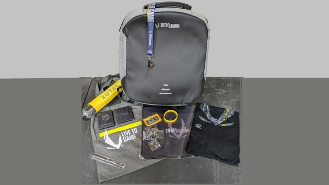 Prize Giveaway #85 – Win An Exclusive ZOTAC Gaming Backpack (stuffed with swag)