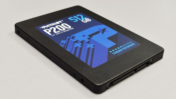 "Patriot P200 512GB 2.5"" SATA SSD Review"