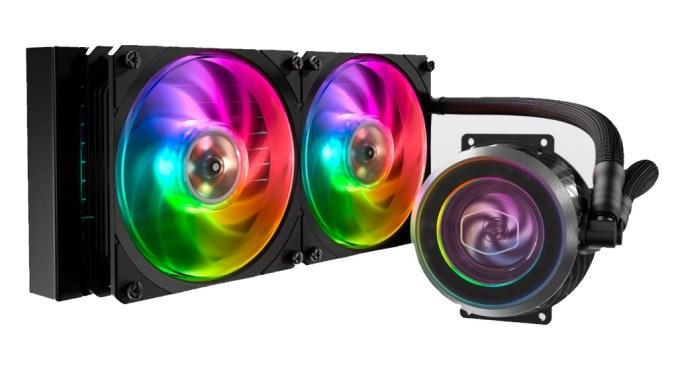 Cooler Master Masterliquid ML240P Mirage CPU Cooler Review
