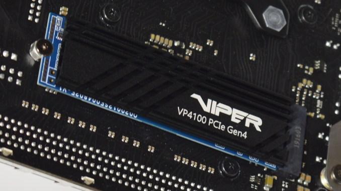 Patriot Viper VP4100 1TB NVMe PCIe 4.0 x4 M.2 SSD Review