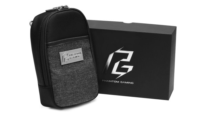 Prize Giveaway #96 – Win an ASRock Phantom Gaming Pouch (3 winners)