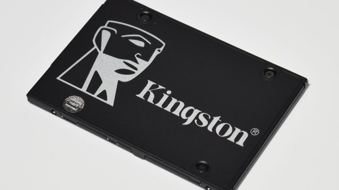 Kingston KC600 1TB SATAIII SSD Upgrade Kit Review