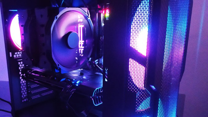 ABKONCORE H600X SYNC Gaming PC Chassis Review