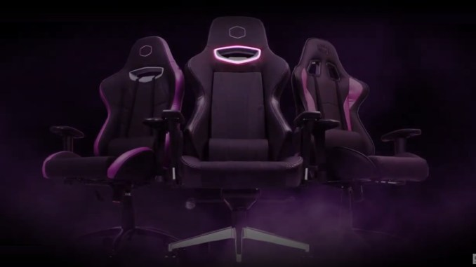 Cooler Master Caliber X1 Gaming Chair Review