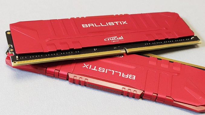 Crucial Ballistix 32GB DDR4-3600 CL16 Memory Kit Review
