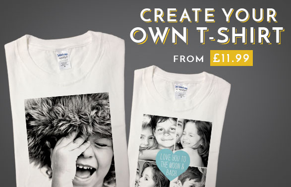 Unique Personalised Amp Custom T Shirts Create Your Own
