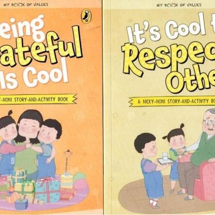 PICTURE BOOK PAIRS: BEING GRATEFUL IS COOL / IT'S COOL TO RESPECT OTHERS