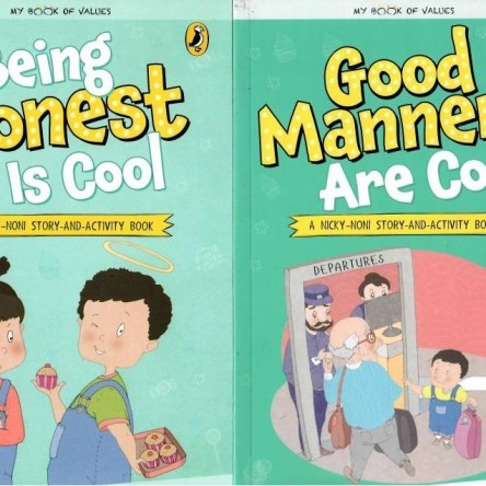 PICTURE BOOK PAIRS: GOOD MANNERS ARE COOL / BEING HONEST IS COOL