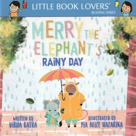 MERRY THE ELEPHANT'S RAINY DAY