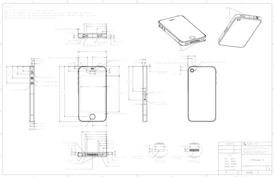 iPhone 4 CAD Drawings Provided To Case Manufacturers