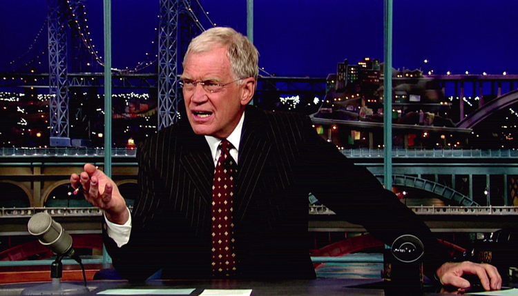 David Letterman: Top Ten Reasons To Buy The iPad 2 [video]