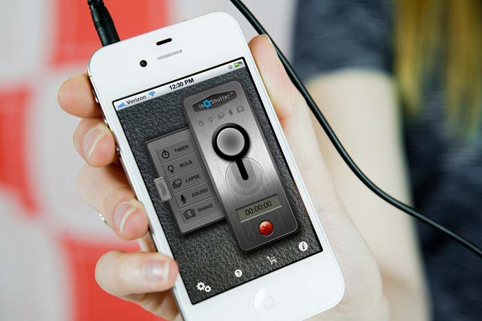 turn off camera sound iphone 5 ioshutter remote turn your ios device into a 6 in 9580