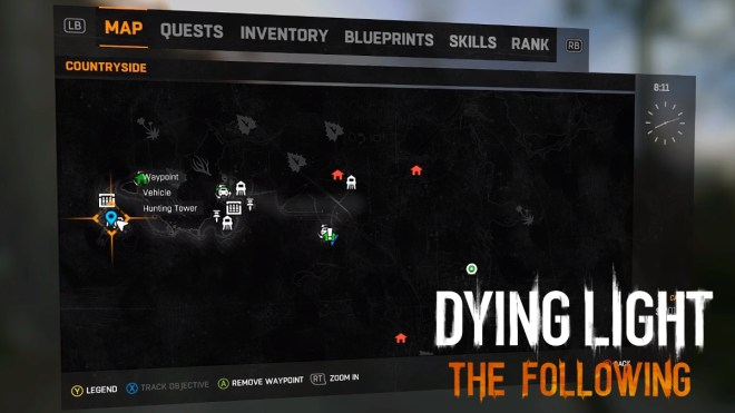 Dying Light The Following Bow Location