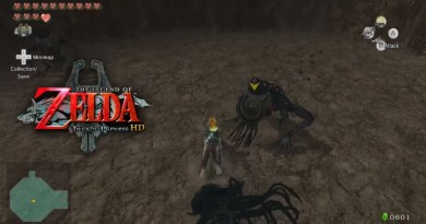 The Legend of Zelda Twilight Princess HD Cave of Shadows
