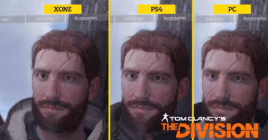Tom Clancy's The Division Graphics Comparison